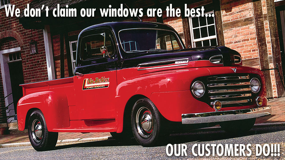 Power Window Kits For Classic Cars And Hot Rods Nu Relics